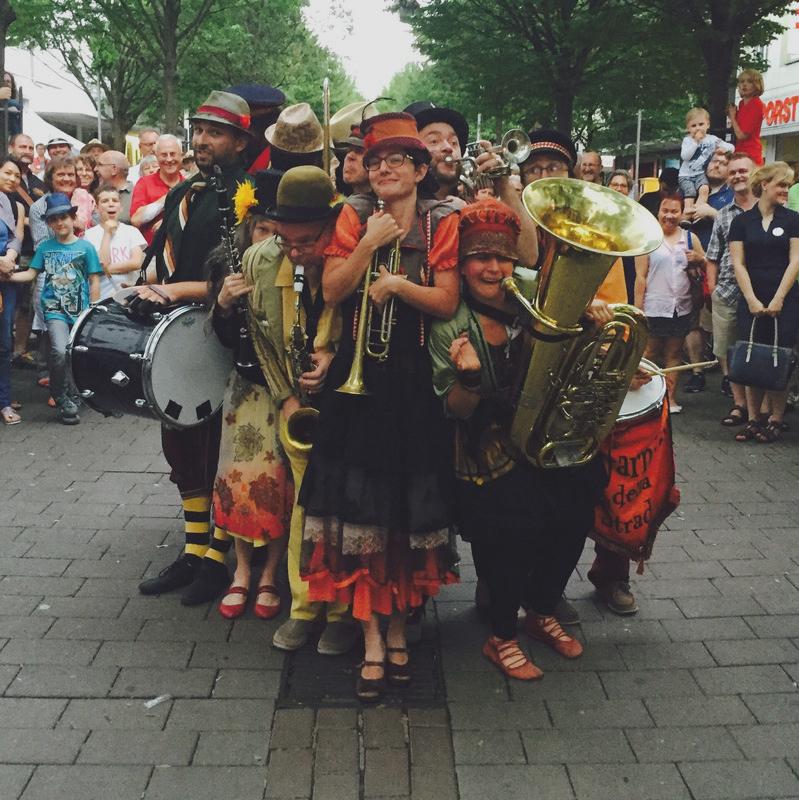 Straßenteaterfestival, Ludwigshafen, Allemagne 2016
