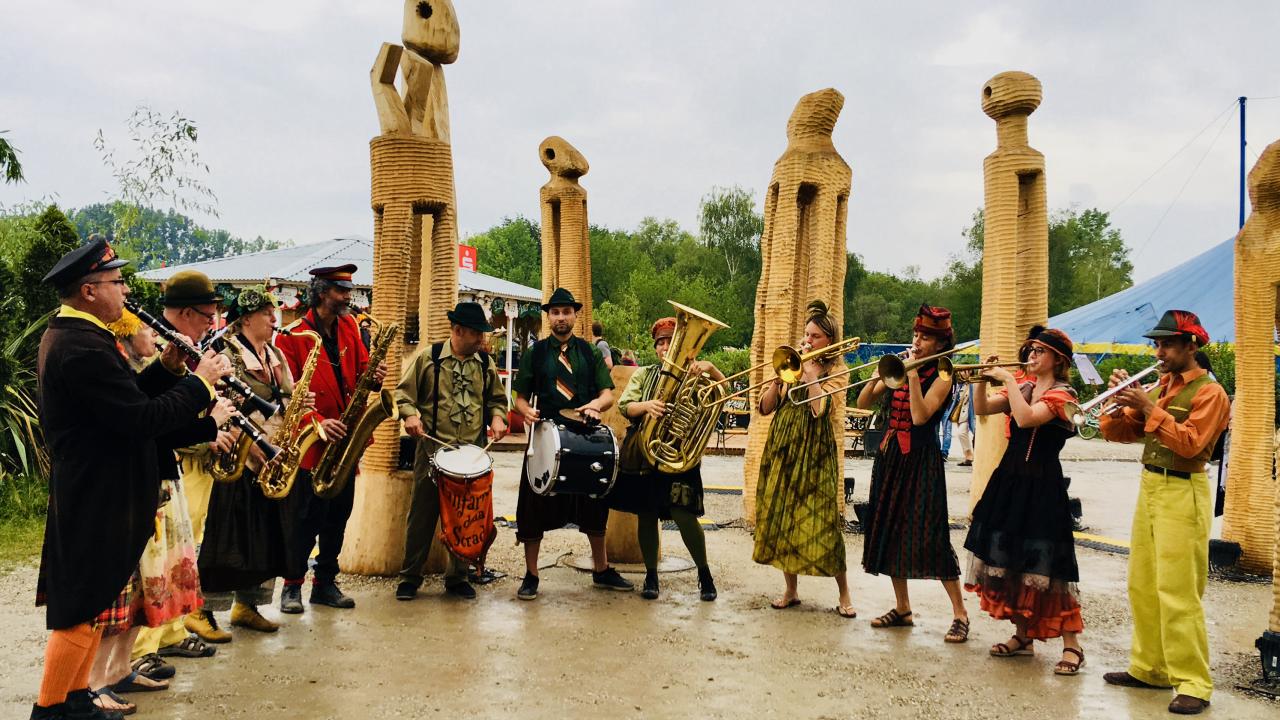 Festival Tollwood, Munich, Allemagne 2018