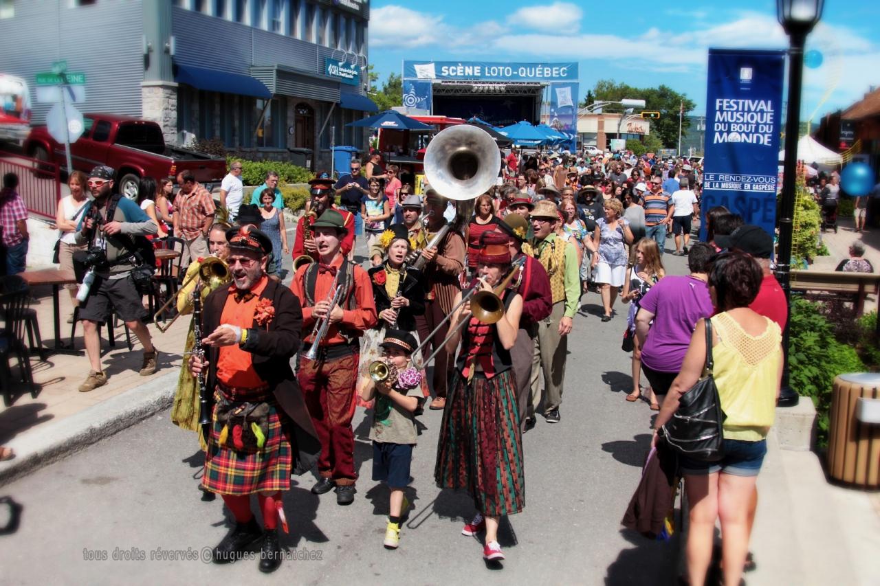 Festival musique du bout du monde, Gaspé, 2012